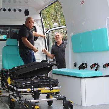 Saúde ganha mais uma ambulância