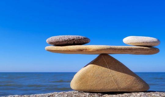 Gratidão, reconhecimento, equilíbrio