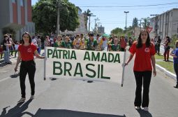 Educação trabalha na organização do Desfile da Pátria
