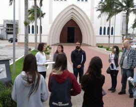 Projeto do IFSC entrega placas informativos sobre história de Araranguá