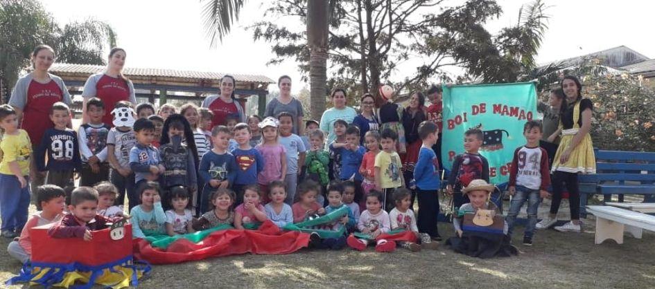 Projeto reinventa a cultura na educação infantil