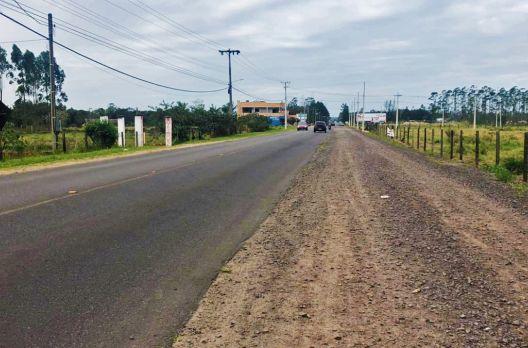 Ciclovia: mais uma obra parada de Araranguá