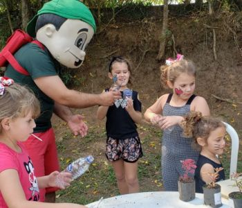 Família e escola unidas na Festa da Família do Colégio Unesc