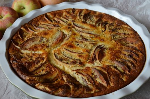 Torta de maçã super fácil