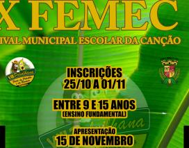 IV Femec – Festival Municipal Escolar da Canção