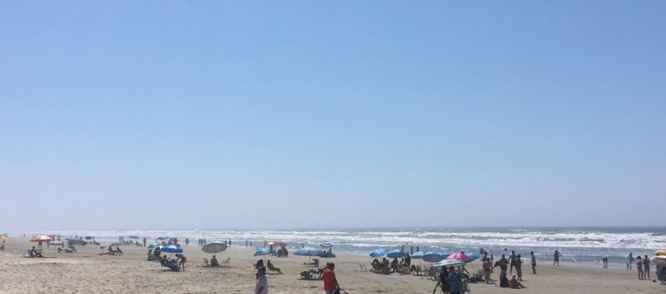 Fim de semana de praia no Arroio do Silva