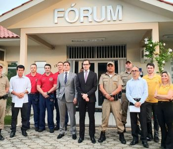 Comarca de Santa Rosa do Sul beneficia com R$ 130 mil entidades do extremo sul de SC