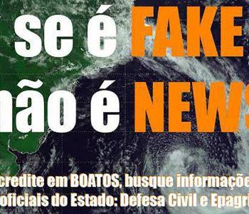 Defesa Civil de Criciúma alerta para trotes e notícias falsas relacionadas a eventos metereológicos