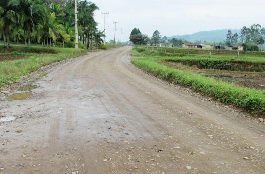 Mais 3,2 quilômetros de estradas serão melhoradas em Turvo