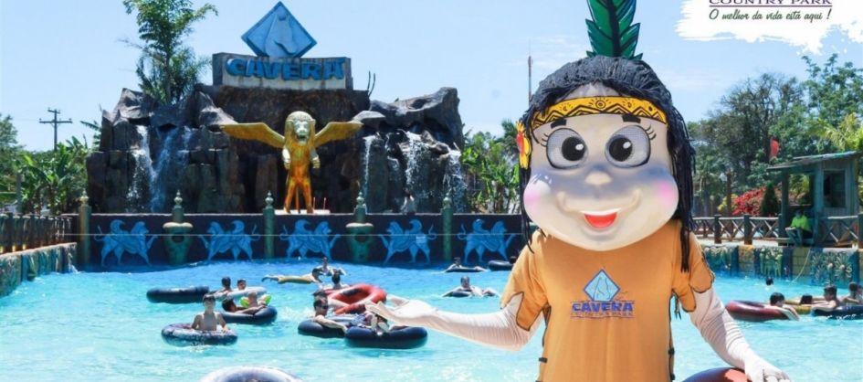 Mascote Índia do Caverá e Garota Verão estarão neste S�...