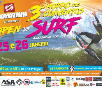 Final de semana de muito surf no 3° Morro dos Conventos Open de Surf