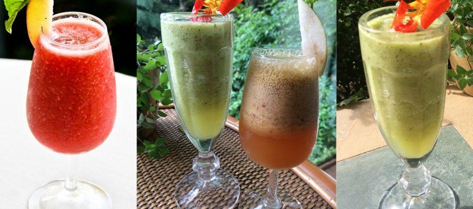 Confira os benefícios dos sucos funcionais e três receita...