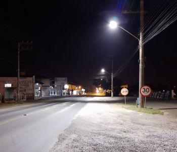 Lâmpadas de LED vão fortalecer a iluminação em Forquilhinha