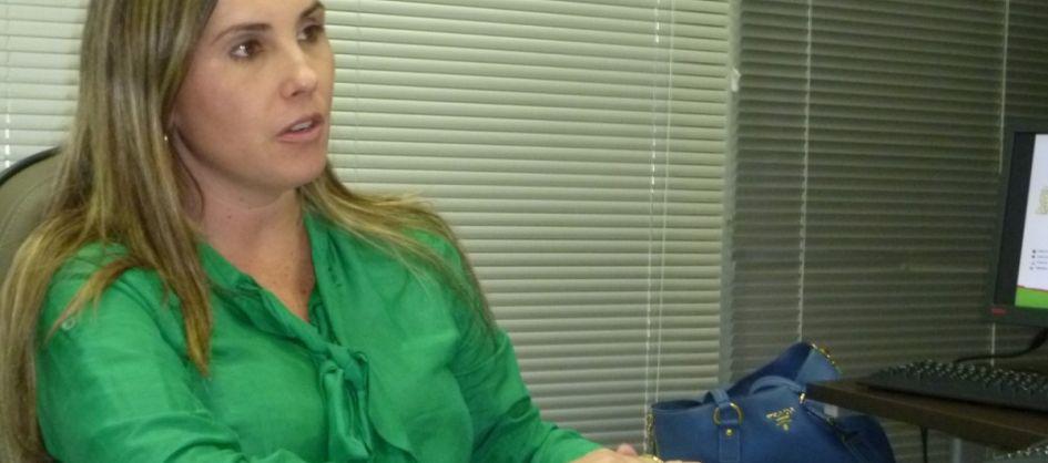Lisiane Tuon pré-candidata a prefeita em Criciúma