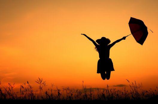 A felicidade mora no equilíbrio