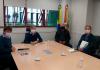 AMESC trata de movimento econômico com o secretário de Estado da Fazenda