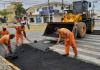 Araranguá tem operação tapa buracos