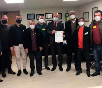 Bancada do PP solicita recursos a Zé Milton para construção da APAE de Balneário Gaivota