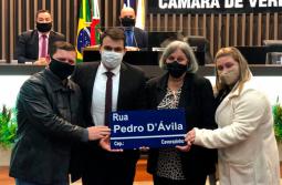Vítima da Covid-19, Pedro D'ávila é homenageado pela Câmara de Vereadores de Ararang...
