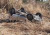 Deputado Coronel Mocellin sofre grave acidente com capotamento de carro no Oeste de SC