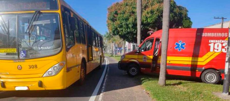 Criciúma: Pedestre é atropelado por um ônibus na Avenida...