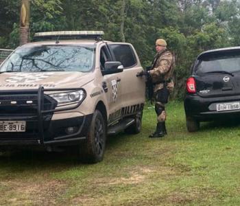 De folga, policial militar recupera veículo roubado em Criciúma