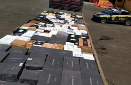 Caminhão de Treze de Maio é flagrado carregando 3,5 mil garrafas de vinhos importados ir...