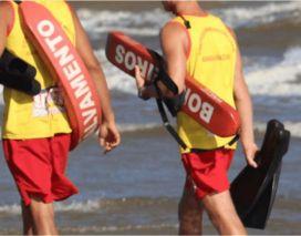Corpo de Bombeiros realiza teste para Guarda-Vidas Civil na manhã desse sábado