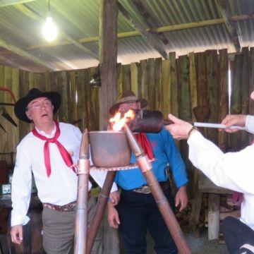 Cerimônia de abertura da 17° Semana Farroupilha de Balneário Arroio do Silva