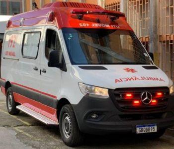 Estado conta com novas ambulâncias para transporte inter-hospitalar