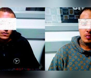 Sequestro relâmpago e tráfico de drogas em Passo de Torres