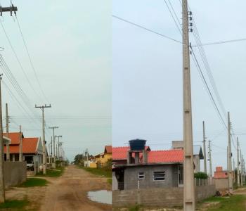 Moradores de Balneário Gaivota reclamam que pagam a taxa de iluminação pública e não receber o serviço corretamente