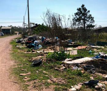 Moradores de Balneário Gaivota reclamam da falta de segurança pública