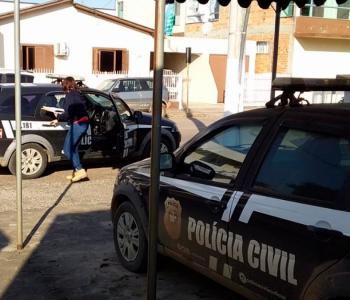 PC de Turvo prende suspeito de integrar quadrilha que furtava caixas eletrônicos no Sul do Estado