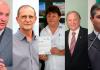 Cinco ex-prefeitos querem voltar a comandar executivos