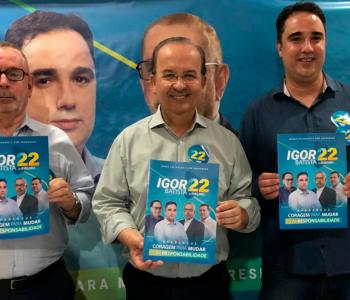 Jorginho Mello reforça apoio a chapa de Igor Batista e Drº. Ribeiro