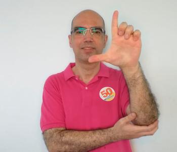Professor Felipe Damásio esteve com outros candidatos na FVA