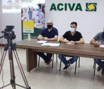 Associados aprovam atualização no Estatuto Social da ACIVA
