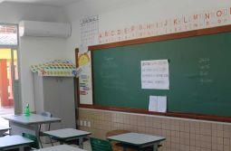 Salas de aulas climatizadas em Maracajá