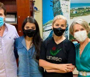 Reitoria da Unesc se encontra com prefeito de Araranguá