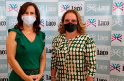 Primeira-dama de Maracajá conhece Projeto Rede Laço