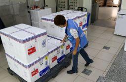 Vacinação em SC: Estado recebe novo lote de doses da vacina Coronavac
