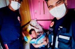 Samu de Criciúma realiza parto de emergência no bairro Ana Maria