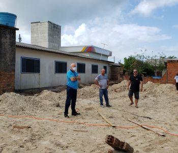 Arroio do Silva inicia construção do novo refeitório da Escola Municipal Jardim Atlântico